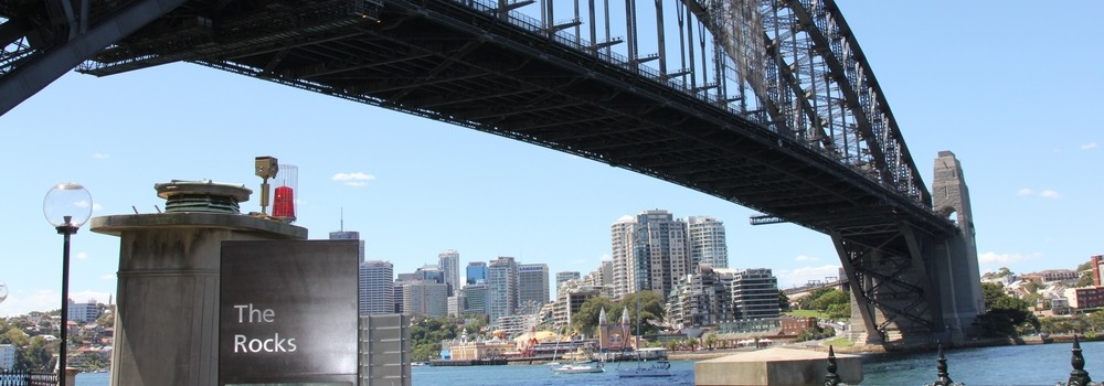 The Rocks. New South Wales founded 1788. photo: the author