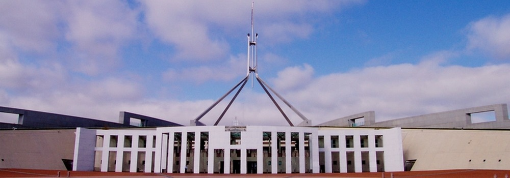 Parliament House. Australian Capital Territory founded 1911. photo pixabay.com